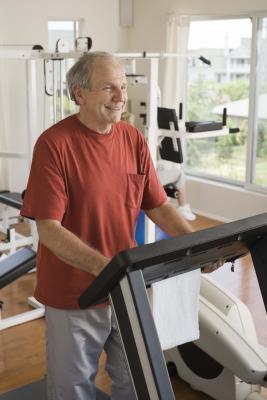 Esercizi di tapis roulant per un uomo Over 60
