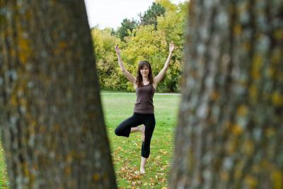 Yoga e archi caduti