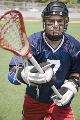 Come piegare la parte superiore di una Mesh di Lacrosse
