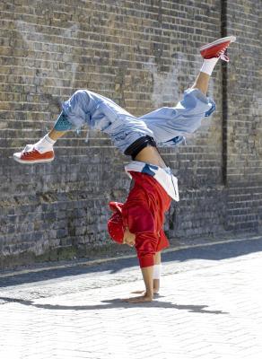 Esercizi di breakdance