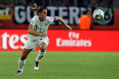 Venerabile & prezioso: Calcio capitano Christie Rampone, US femminile di