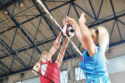 Giunti & muscoli utilizzati nella pallavolo