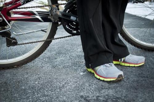 Come guidare una bicicletta 10 velocità