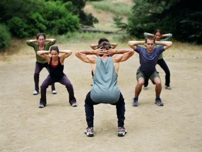Accovacciata e Stretching dei muscoli pelvici