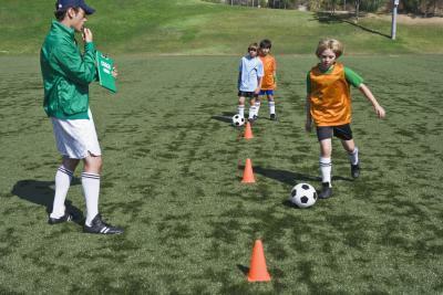 Calcio Trapani su spaziatura per bambini