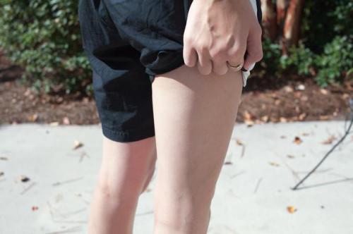 Quello che i muscoli sono utilizzati e stabilizzati mentre fa Jogging?
