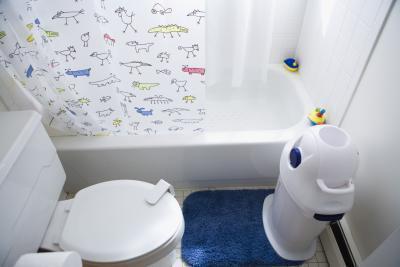 Come servizi igienici treno bambini con disprassia