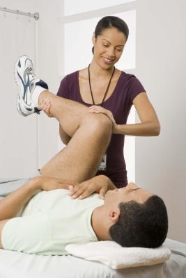 Terapia fisica dopo sostituzione parziale del ginocchio