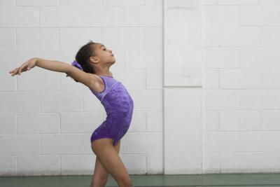 Inizio routine di ginnastica