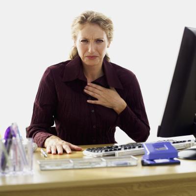 Dolore del cuore dopo aver mangiato