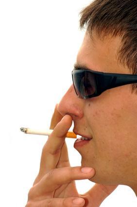 Problemi di giovani fumatori