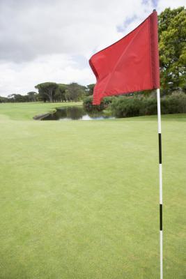 Fisica di colpire una pallina da Golf per un Green rialzato