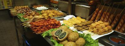 Le calorie del buffet di cibo cinese