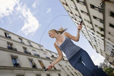 Può saltare la corda costruire massa muscolare magra?