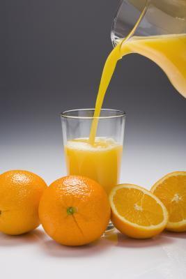 Calorie in un bicchiere di succo di
