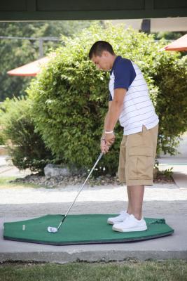 Come costruire un campo pratica per il Golf