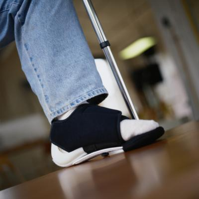 Fisioterapia e riabilitazione di chirurgia del piede