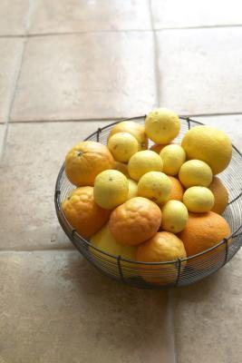 Come congelare arance e limoni