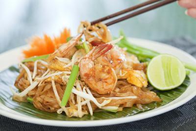 Quante calorie in ristorante Pad Thai?