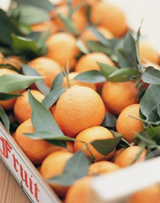 Livelli di fruttosio in un arancio