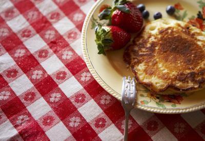 Idee della prima colazione a basso contenuto calorico e ad alta percentuale proteica
