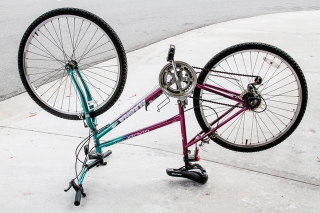 Togliere ruggine catena bici