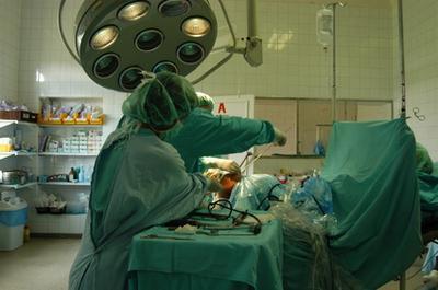 Complicazioni di aspirazione durante l'intervento chirurgico