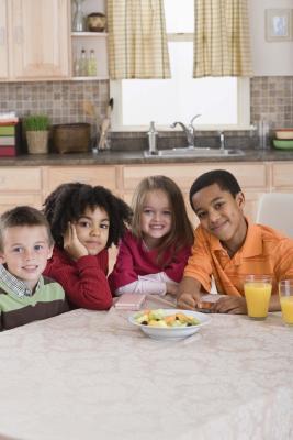 Come andare su una dieta per bambini