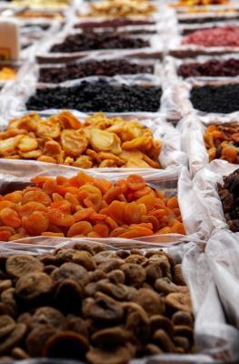 Qual è la percentuale di zucchero nella frutta secca?