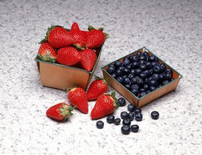 Valori nutrizionali di mirtilli e fragole