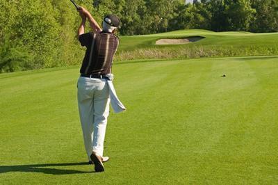 Infortunio al ginocchio da Golf