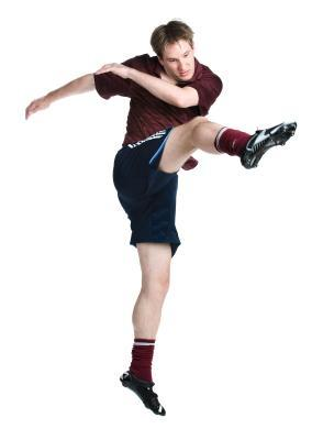 Muscoli usati per giocare a calcio