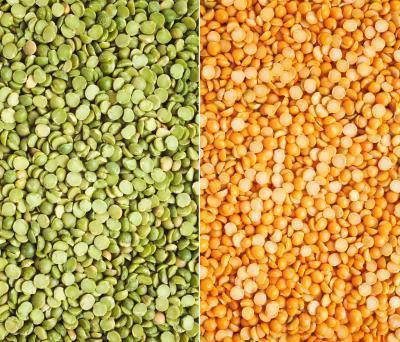 Differenza tra giallo Split Peas & piselli Split