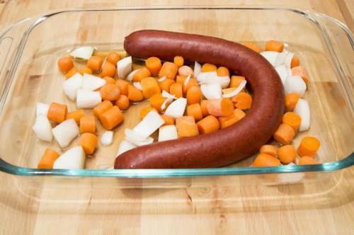 Come cucinare un Link salsiccia al forno