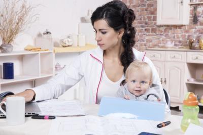 Come può una mamma occupato a perdere peso?