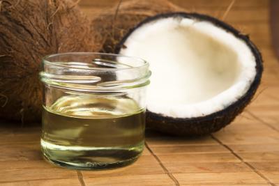 Olio di cocco olio contro i pesci