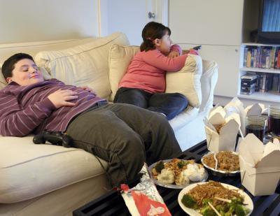 Gli effetti del cibo spazzatura bambini negativi