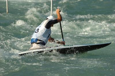 Esercizi per il kayak di acqua bianca