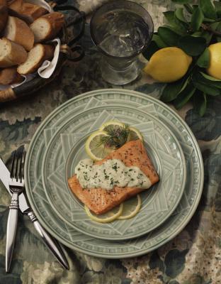 Come cucinare il salmone al limone al forno
