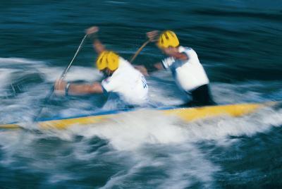 Tecniche per le gare di canoa