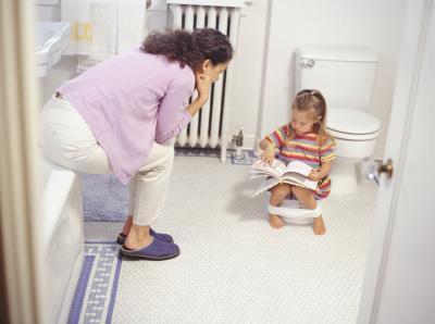 Addestramento della toletta per movimenti intestinali