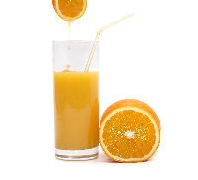 L'intolleranza al lattosio & succo d'arancia