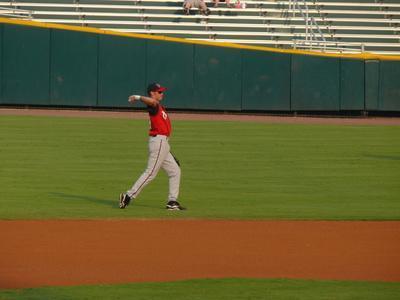 Outfield baseball gettando Trapani