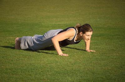 Spingere verso l'alto gli allenamenti