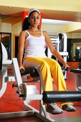 Routine di allenamento palestra per perdita di peso di Girls'