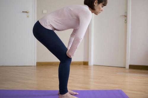 Utero-rafforzamento posture Yoga