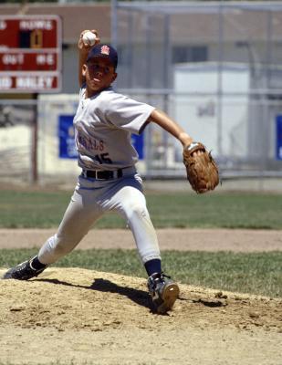 Fratture della spalla crescita piastra da Baseball