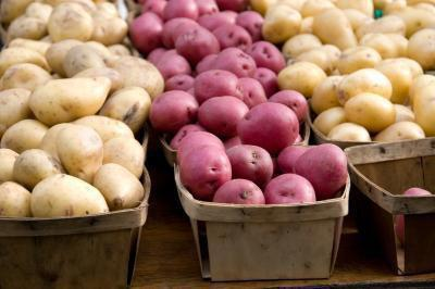 Informazioni nutrizionali per patate bianche