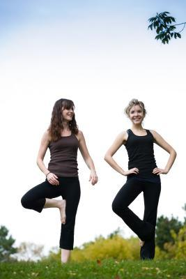 Esercizi di bilanciamento con una gamba sola