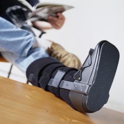 Che si esercita con una frattura da Stress al piede